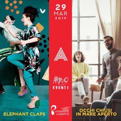 Elephant Claps & Occhi Chiusi in Mare Aperto @ Alcazar 29/03/19