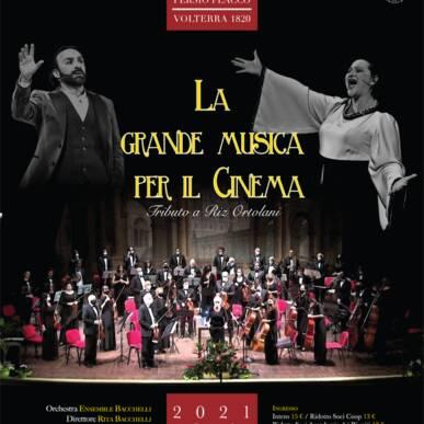 LA GRANDE MUSICA PER IL CINEMA – Tributo a Riz Ortolani