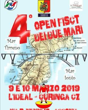 """Open FISCT """"IV Open dei due Mari"""""""