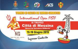"International Open FISTF ""XI Trofeo Città di Messina – Memorial Salvatore Giliberto"""