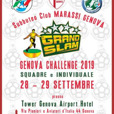 Genova Challenge Grand Slam Subbuteo Fisct