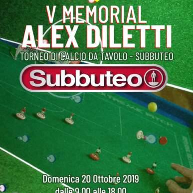 V Memorial Alex Diletti