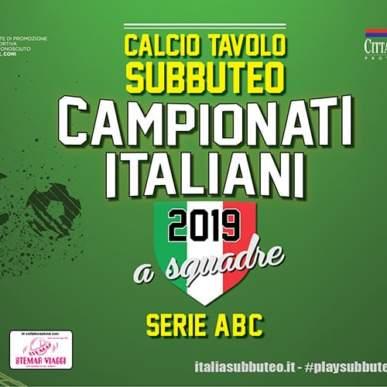 CAMPIONATI A SQUADRE FISCT – GIRONE DI ANDATA SERIE A-B-C