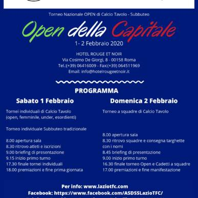 Open della Capitale
