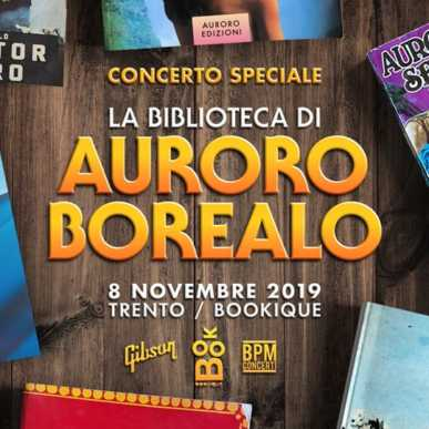 La Biblioteca di Auroro Borealo – Concerto Speciale