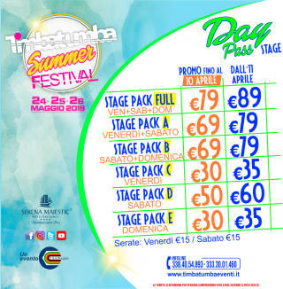 Day Pass Stage Timbatumba