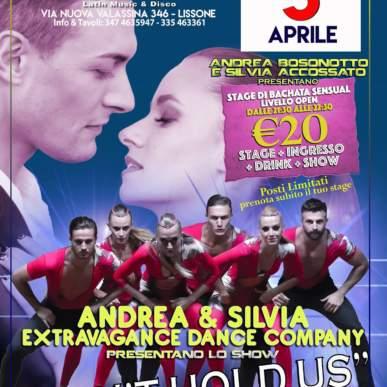 Andrea Bosonotto e Silvia Accossato Stage & Show al Le Le Bahia