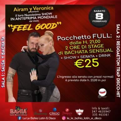Airam y Veronica ( Campioni del Mondo 2018 di Bachata Fusion ) in Stage e Show