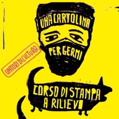 Untori di Cultura: Corso di stampa a Rilievo @germildc dal 16 gennaio 2020
