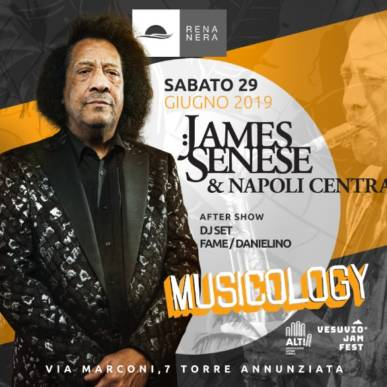 James Senese Napoli Centrale in Concerto