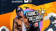 FRANCO RICCIARDI LIVE @RENANERA