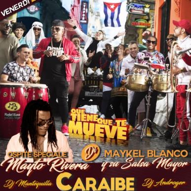 Maykel Blanco Y Su Salsa Mayor @Caraibe 25 ottobre 2019