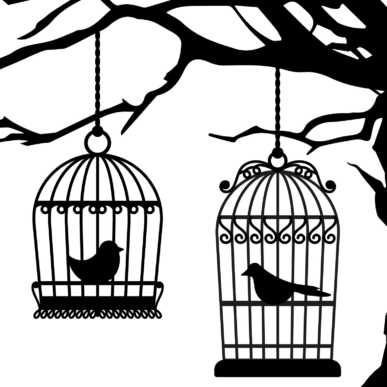 Osteria degli uccelli in gabbia