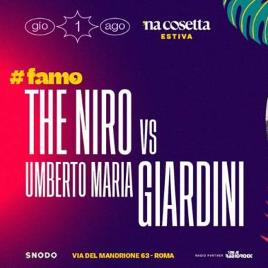 The Niro vs Umberto Maria Giardini @nacosettaestiva 1 Agosto