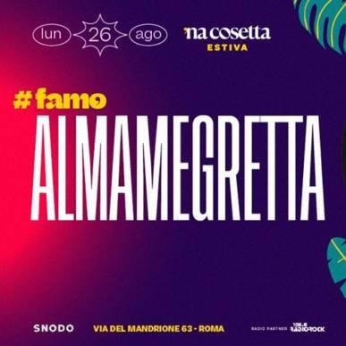 Almamegretta @nacosettaestiva 26 Agosto