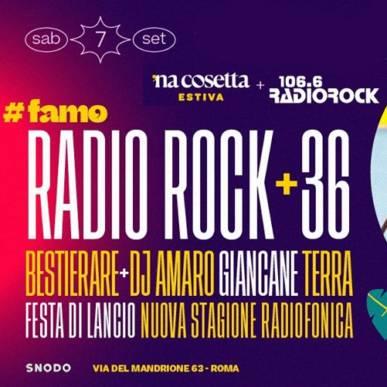 Radio Rock + 36 – Terra – Giancane (acustico) – Bestierare @nacosettaestiva 7 Settembre