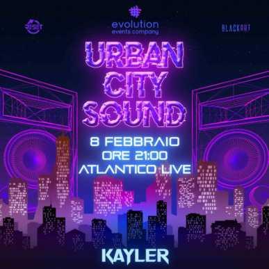 Urban City Sound @palatlantico 8 febbraio 2020