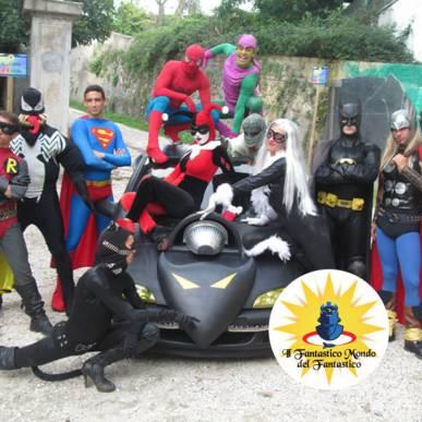 La Battaglia dei Supereroi al Fantastico Mondo