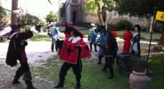 D'Artagnan e i Tre Moschettieri al Fantastico Mondo
