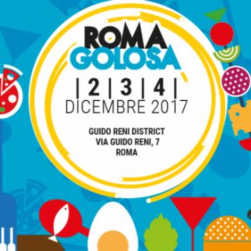 Roma Golosa 3 dicembre 2017
