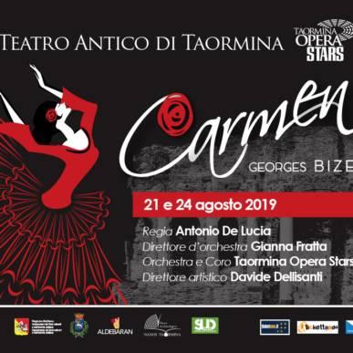 Carmen @TeatroAnticoTaormina 24 Agosto 2019