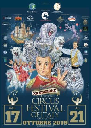 International Circus Festival of Italy – 19 ottobre 2019 – Show B