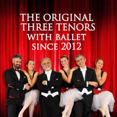 I Tre tenori @San Paolo entro le Mura 15/01/2020