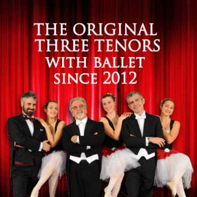 I Tre tenori @San Paolo entro le Mura 22/01/2020