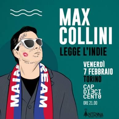 Max Collini legge l'indie @ CAP10100