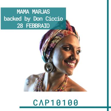 Mama Marjas live @ CAP10100 | RECUPERO DATA