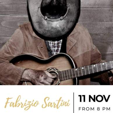 Fabrizio Sartini – Up On The Roof Music Club @TheIndependentHotel 11 novembre 2019