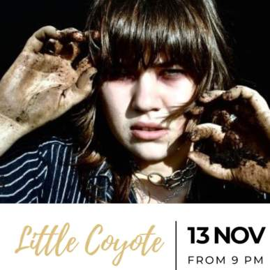 Little Coyote – Up On The Roof Music Club @TheIndependentHotel 13 novembre 2019