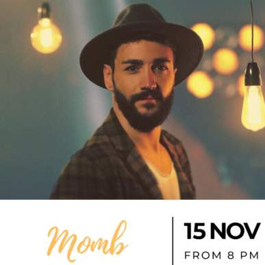 Momb – Up On The Roof Music Club @TheIndependentHotel 15 novembre 2019