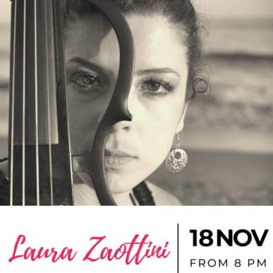 Laura Zaottini – Up On The Roof Music Club @TheIndependentHotel 18 novembre 2019