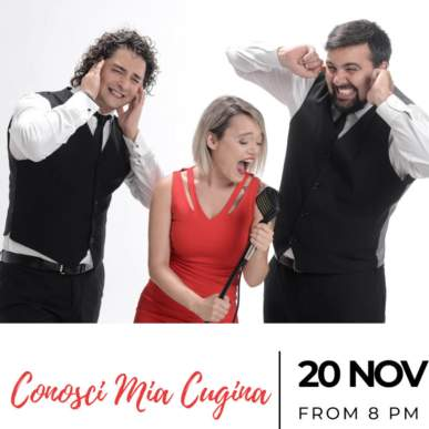 Conosci Mia Cugina – Up On The Roof Music Club @TheIndependentHotel 20 novembre 2019