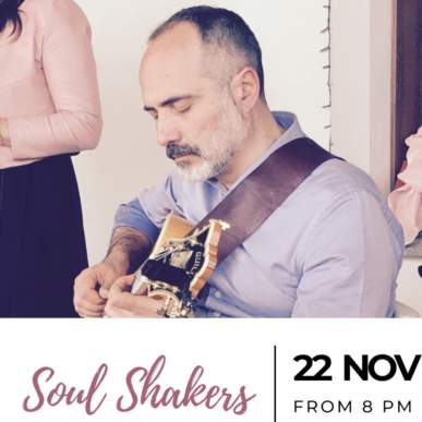 Soul Shakers – Up On The Roof Music Club @TheIndependentHotel 22 novembre 2019
