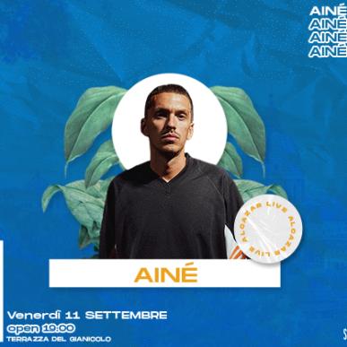 AINÈ + HAN @ Terrazza del Gianicolo – Alcazar Summer 11/09/20