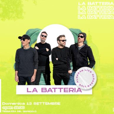 LA BATTERIA @ Terrazza del Gianicolo – Alcazar Summer 13/09/20