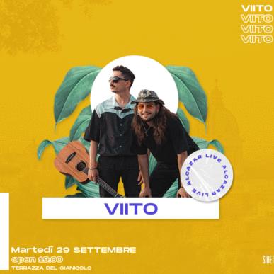 VIITO @ Terrazza del Gianicolo – Alcazar Summer 29/09/20