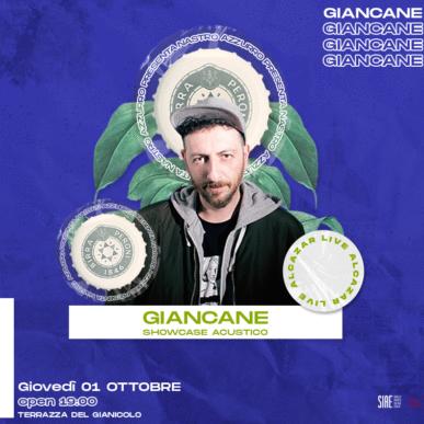 Nastro Azzurro presenta GIANCANE @ Terrazza del Gianicolo – Alcazar Summer 01/10/20