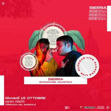 Nastro Azzurro presenta SIERRA + PIOVE @ Terrazza del Gianicolo Alcazar Summer 22/10/20