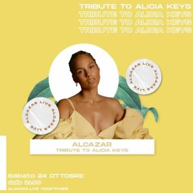 TRIBUTE TO ALICIA KEYS @ Alcazar 24/10/20