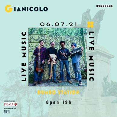 DUMBO STATION @ Terrazza del Gianicolo Alcazar Summer 06/07/21