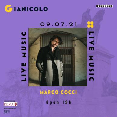 MARCO COCCI @ Terrazza del Gianicolo Alcazar Summer 09/07/21