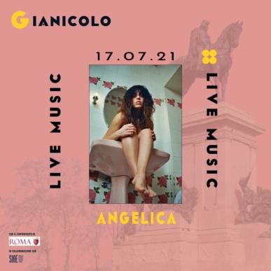 ANGELICA @ Terrazza del Gianicolo Alcazar Summer 17/07/21