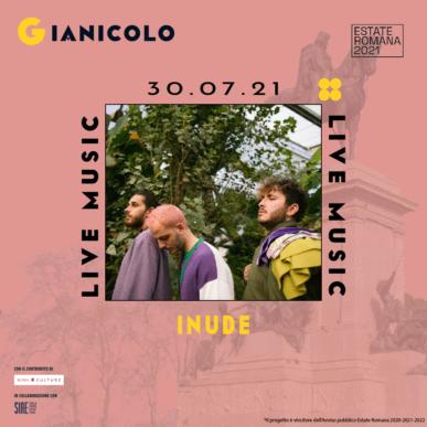 INUDE @ Terrazza del Gianicolo Alcazar Summer 30/07/21