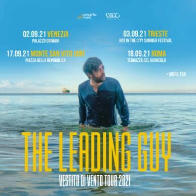 THE LEADING GUY @ Terrazza del Gianicolo Alcazar Summer 18/09/21