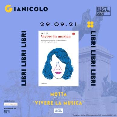 MOTTA presenta Vivere la Musica @ Terrazza del Gianicolo Alcazar Summer 29/09/21