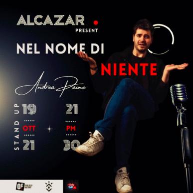 Andrea Paone @ Alcazar 19/10/21