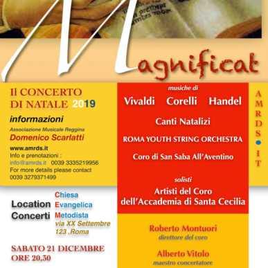 Magnificat – Il Concerto di Natale 2019